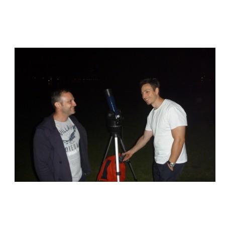 Pozorovania hviezd a prezentácie 2 hodiny