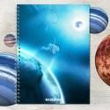 Zošit špirálový A5 linajkový – ASTRO astronaut