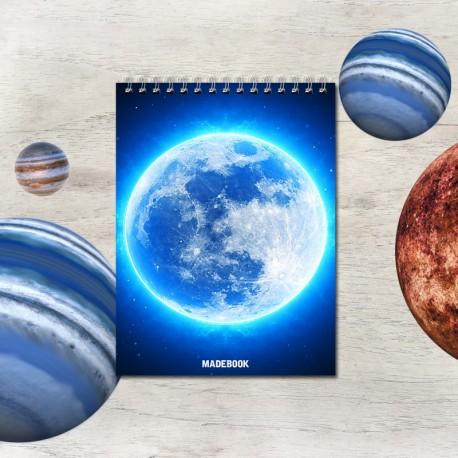 Špirálový blok A6 – ASTRO mesiac