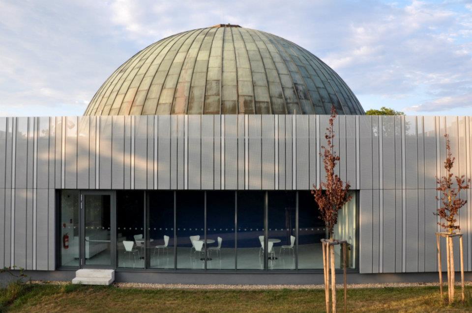 budova planetária v Brne