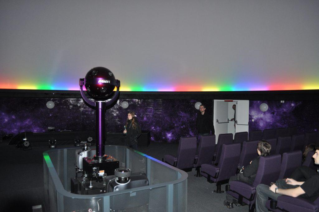projektor planetária v Ostrave