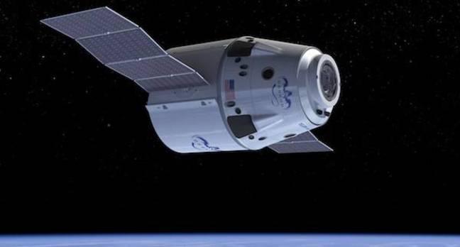 Vesmírné taxi z dieľne Space-X