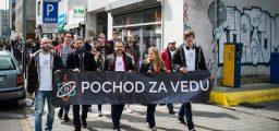 Pochod za vedu Bratislava