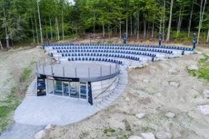 Amfiteáter v Quebec's Eastern Townships