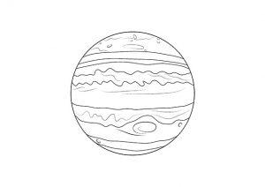 Omaľovánky - Jupiter (preview)