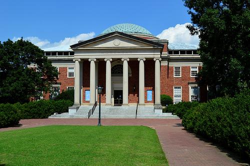 Planetarium Morehead Univerzita Severná Karolína Chapel Hill