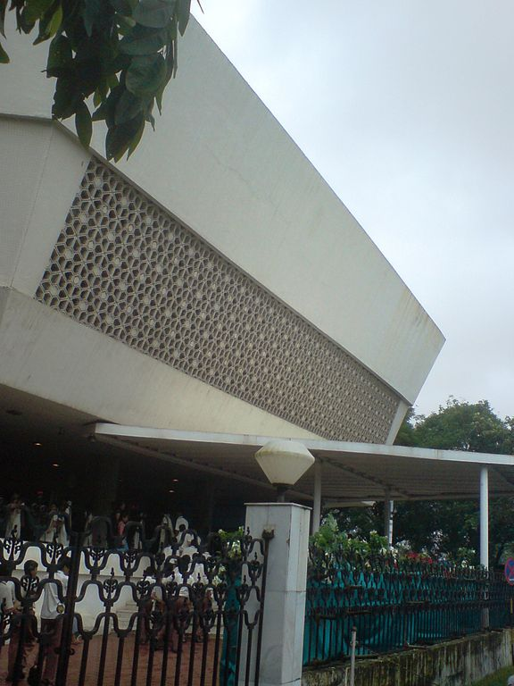 The Mumbai planetarium complex at Worli, Mumbai