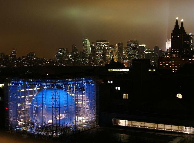 Hayden Planetarium, New York
